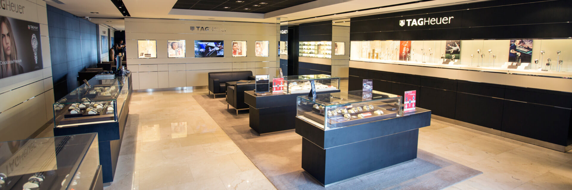 Kirk Freeport presents Tag Heuer Boutique a one-stop shopping destination located in George Town in the Grand Cayman Islands